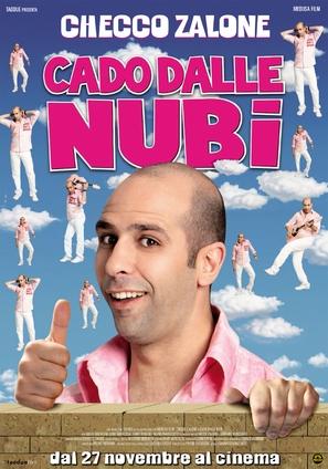 Cado dalle nubi - Italian Movie Poster (thumbnail)