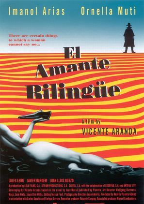 Amante bilingüe, El - Spanish Movie Poster (thumbnail)