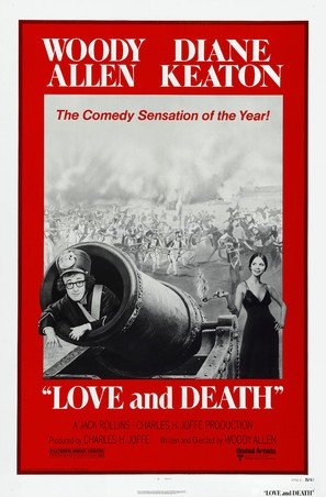 Love and Death - Theatrical poster (thumbnail)