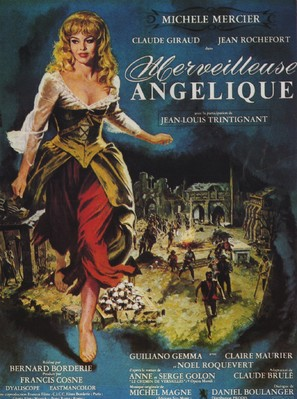 Merveilleuse Angélique - French Movie Poster (thumbnail)