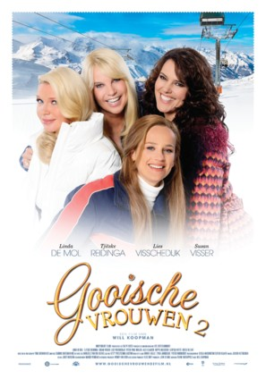 Gooische Vrouwen II - Dutch Movie Poster (thumbnail)