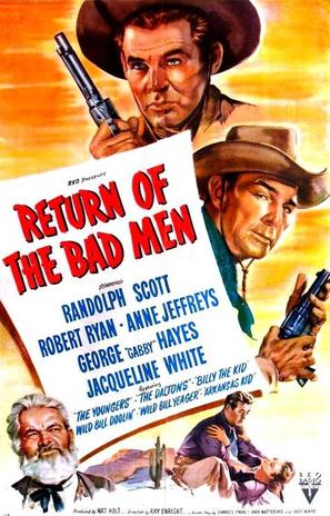 Return of the Bad Men - Movie Poster (thumbnail)