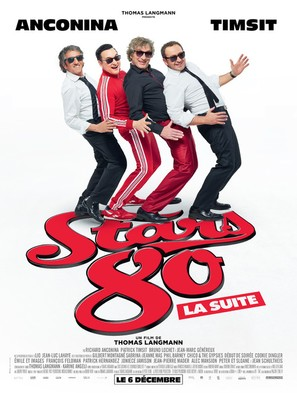 Stars 80, la suite - French Movie Poster (thumbnail)