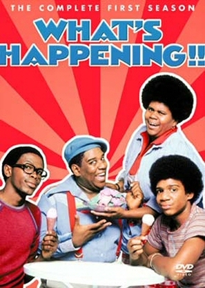 """What's Happening!!"" - DVD cover (thumbnail)"