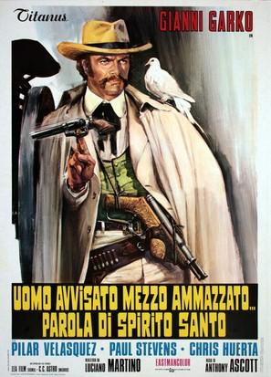 Uomo avvisato mezzo ammazzato... Parola di Spirito Santo - Italian Movie Poster (thumbnail)