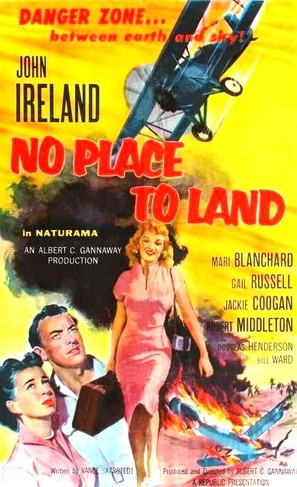 No Place to Land - Movie Poster (thumbnail)
