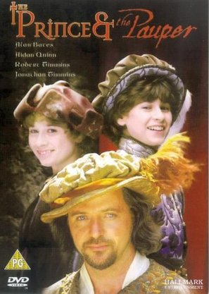 The Prince and the Pauper - British DVD cover (thumbnail)