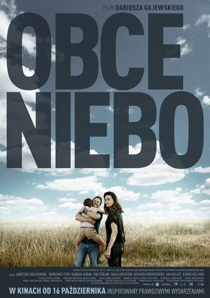 Obce niebo - Polish Movie Poster (thumbnail)