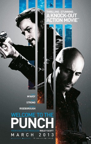 Welcome to the Punch - British Movie Poster (thumbnail)