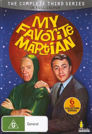 """My Favorite Martian"" - Australian DVD cover (thumbnail)"
