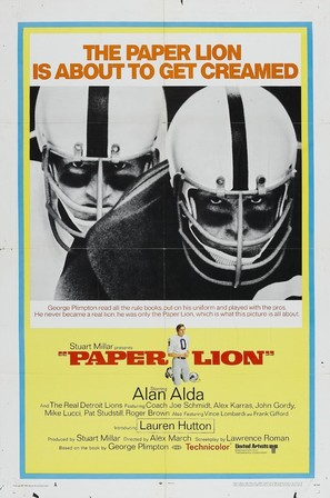 Paper Lion - Movie Poster (thumbnail)