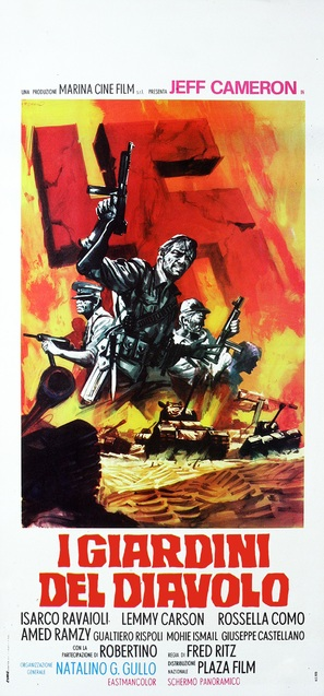 I giardini del diavolo - Italian Movie Poster (thumbnail)