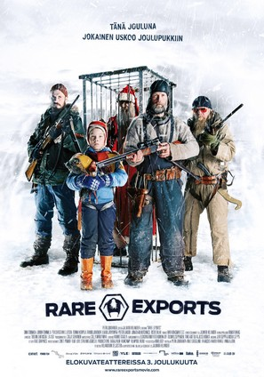 Rare Exports - Finnish Movie Poster (thumbnail)