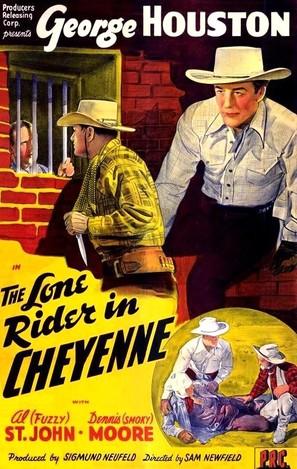 The Lone Rider in Cheyenne - Movie Poster (thumbnail)