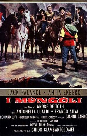 Mongoli, I - Italian Movie Poster (thumbnail)