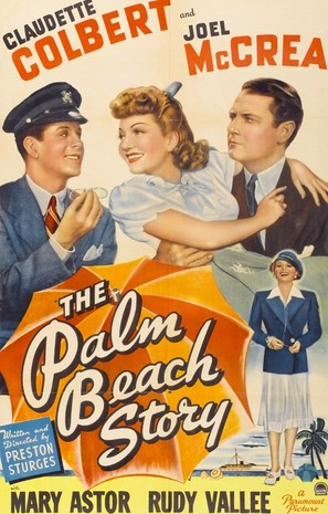 The Palm Beach Story - Movie Poster (thumbnail)