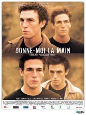 Donne-moi la main - French Movie Poster (thumbnail)