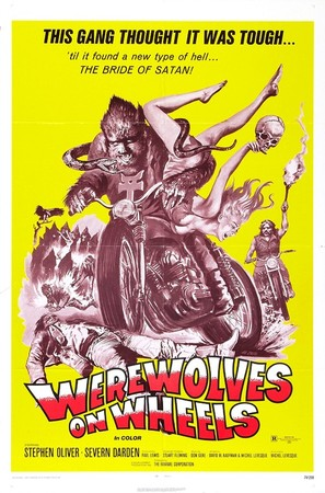 Werewolves on Wheels - Theatrical movie poster (thumbnail)