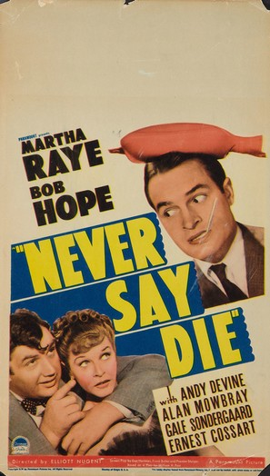 Never Say Die - Movie Poster (thumbnail)