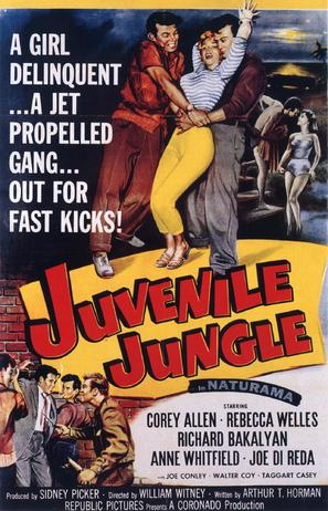 Juvenile Jungle - Movie Poster (thumbnail)