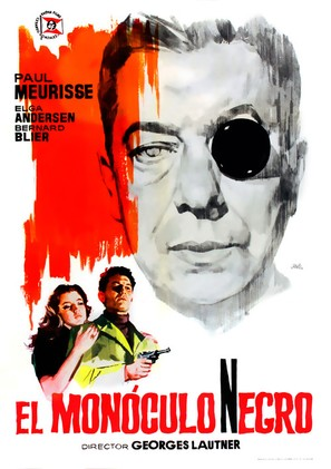 Monocle noir, Le - Spanish Movie Poster (thumbnail)