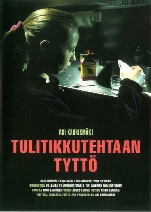 Tulitikkutehtaan tyttö - Finnish Movie Poster (thumbnail)