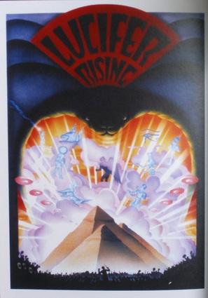 Lucifer Rising - Russian Movie Poster (thumbnail)