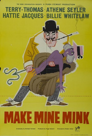 Make Mine Mink - British Movie Poster (thumbnail)
