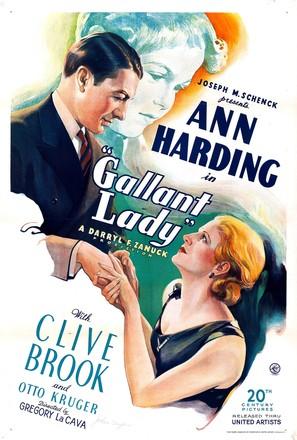 Gallant Lady - Movie Poster (thumbnail)