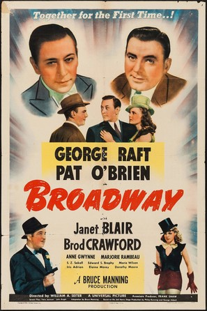 Broadway - Movie Poster (thumbnail)