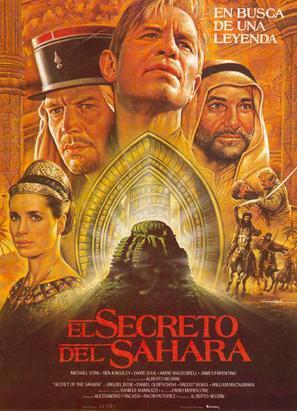 """""""Il segreto del Sahara"""" - Spanish poster (thumbnail)"""