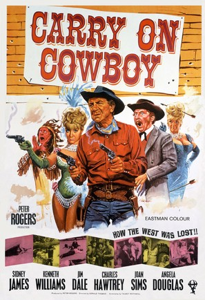 Carry on Cowboy - British Movie Poster (thumbnail)
