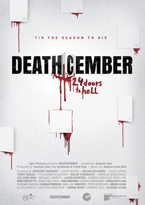 Deathcember - German Movie Poster (thumbnail)