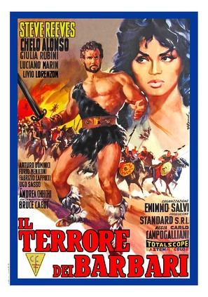 Il terrore dei barbari - Italian Movie Poster (thumbnail)