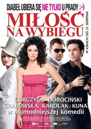 Milosc na wybiegu - Polish Movie Poster (thumbnail)
