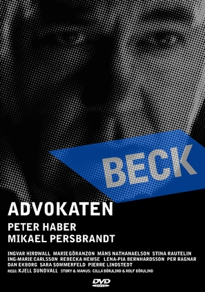 """Beck"" Advokaten - Swedish poster (thumbnail)"