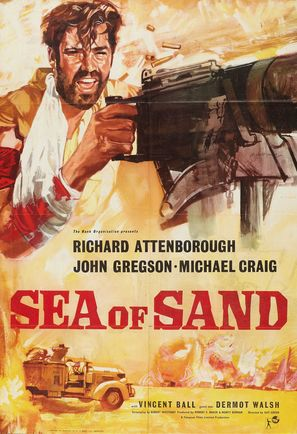 Sea of Sand - British Movie Poster (thumbnail)