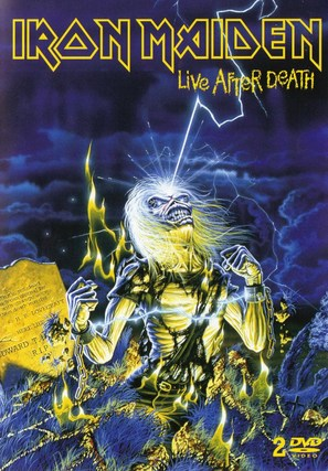Iron Maiden: Live After Death - DVD cover (thumbnail)