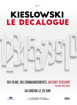 """Dekalog"" - French Movie Poster (thumbnail)"