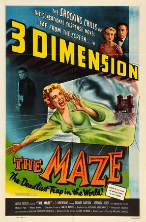 The Maze - Movie Poster (thumbnail)