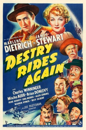 Destry Rides Again - Movie Poster (thumbnail)