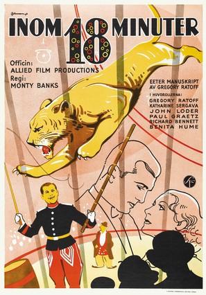 18 Minutes - Swedish Movie Poster (thumbnail)