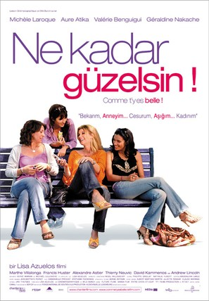 Comme t'y es belle! - Turkish poster (thumbnail)