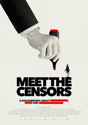 Meet the Censors - Norwegian Movie Poster (thumbnail)