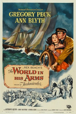 The World in His Arms - Movie Poster (thumbnail)