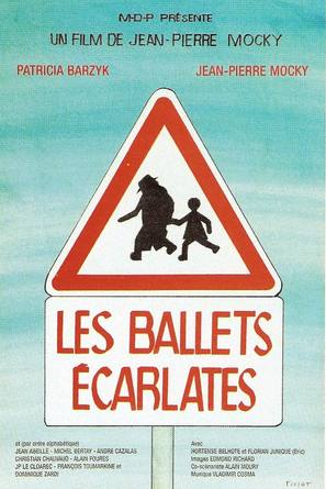 Les ballets écarlates - French Movie Poster (thumbnail)