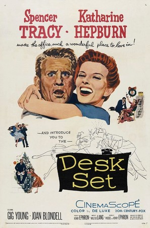 Desk Set - Movie Poster (thumbnail)