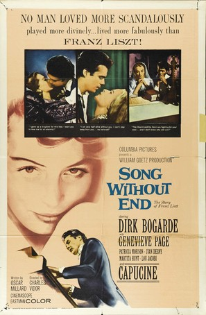 Song Without End - Movie Poster (thumbnail)