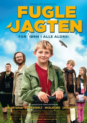 Fuglejagten - Danish Movie Poster (thumbnail)