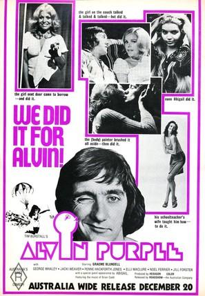Alvin Purple - Australian Movie Poster (thumbnail)